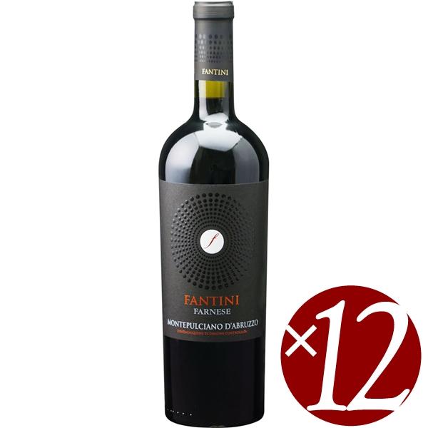 【ポイント2倍(16日2時まで)】ファンティーニ モンテプルチャーノ ダブルッツォ/モンテプル 750ml×12本 (赤ワイン)