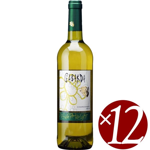 【ポイント2倍(16日2時まで)】ガバルダ シャルドネ/ボデガス ガバルダ 750ml×12本(白ワイン)