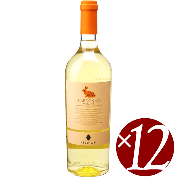 【まとめ買い】ヴィッラ アンジェラ シャルドネ/ヴェレノージ (白ワイン)750ml×12本