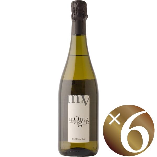 【まとめ買い】マルヴァジア/モンテ・デッレ・ヴィーニェ (スパークリングワイン)750ml×6本