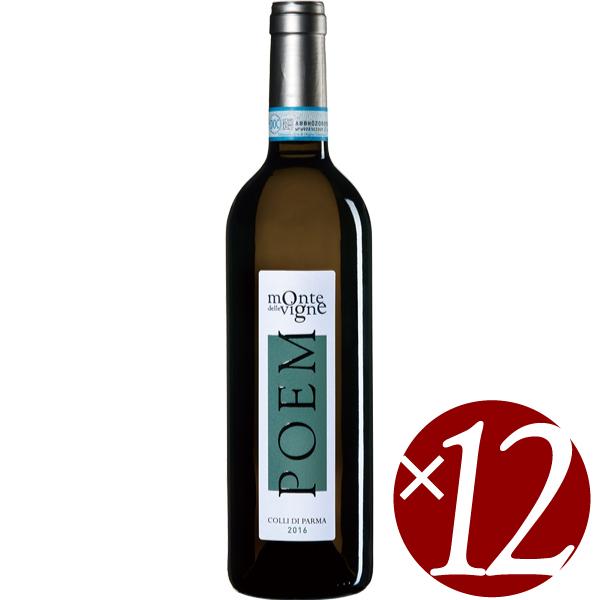 【ポイント2倍(16日2時まで)】【まとめ買い】ポエム ビアンコ/モンテ・デッレ・ヴィーニェ (白ワイン)750ml×12本