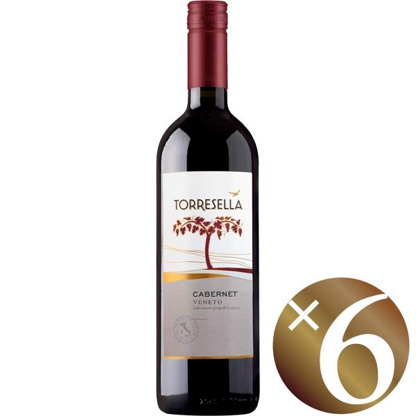 【まとめ買い】カベルネ/トッレゼッラ (赤ワイン)750ml×6本