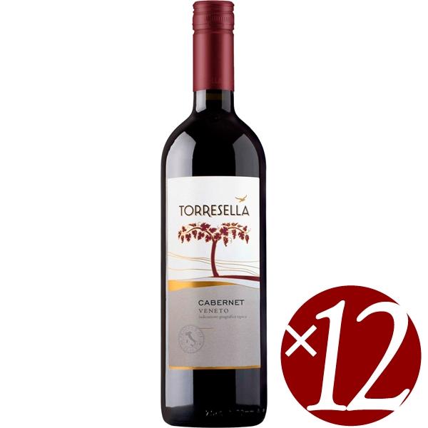 【ポイント2倍(16日2時まで)】【まとめ買い】カベルネ/トッレゼッラ (赤ワイン)750ml×12本