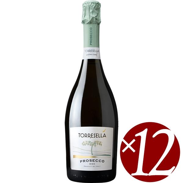 【ポイント2倍(16日2時まで)】【まとめ買い】プロセッコ/トッレゼッラ (スパークリングワイン)750ml×12本