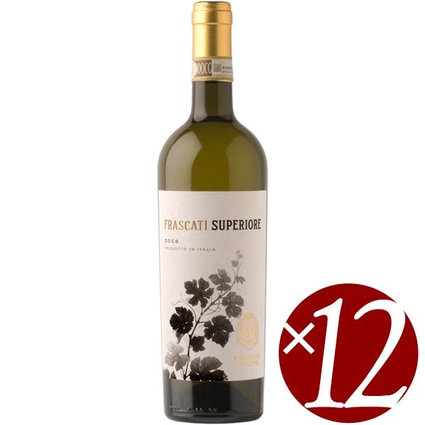 【ポイント2倍(16日2時まで)】フラスカーティ/ポッジョ・レ・ヴォルピ 750ml×12本(白ワイン)