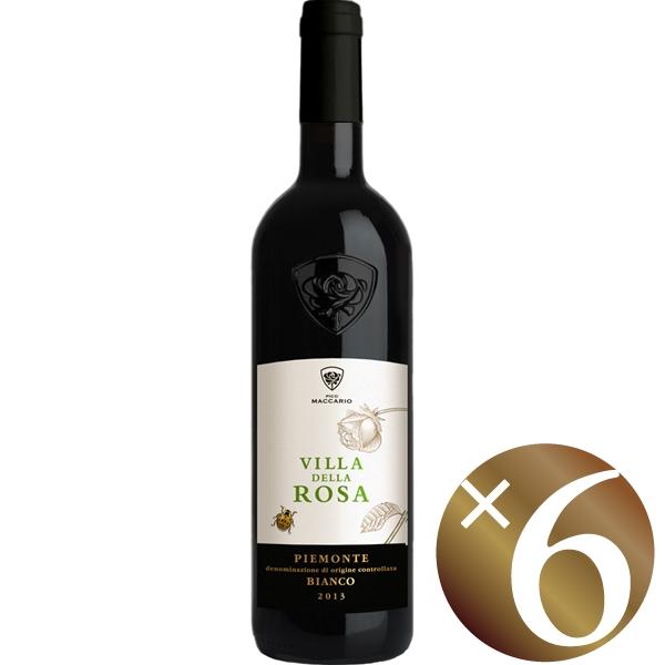 ヴィッラ・デッラ・ローザ ピエモンテ ビアンコ/ピコ・マッカリオ 750ml×6本 (白ワイン)