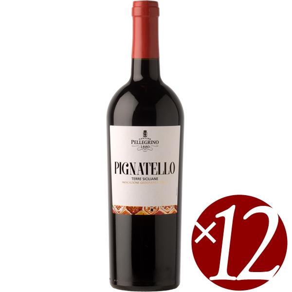 ピニャテッロ/ペッレグリーノ 750ml×12本(赤ワイン)