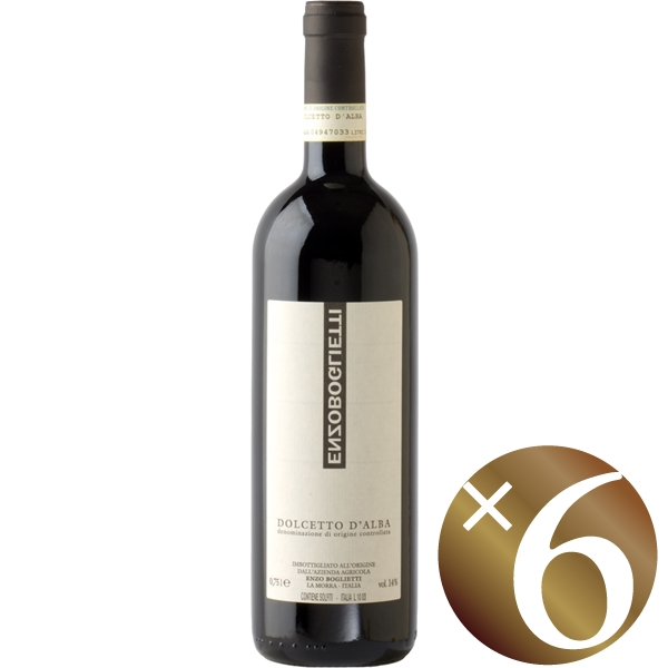 【まとめ買い】ドルチェット・ダルバ/エンツォ・ボリエッティ (赤ワイン)750ml×6本