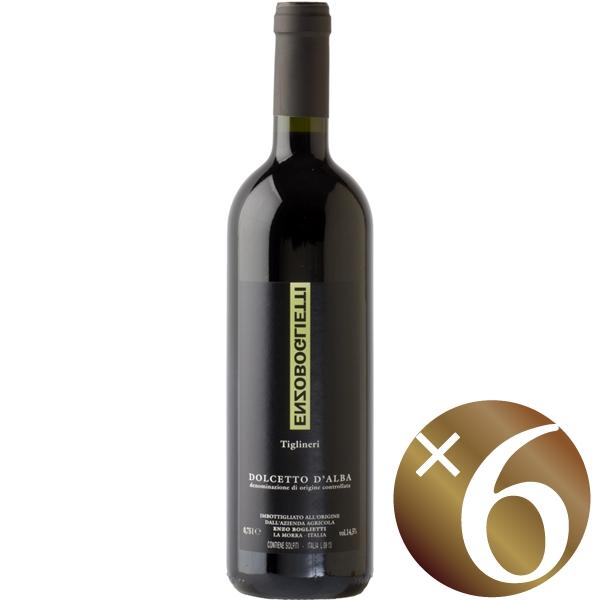【まとめ買い】ドルチェット・ダルバ ティリネリ/エンツォ・ボリエッティ (赤ワイン)750ml×6本