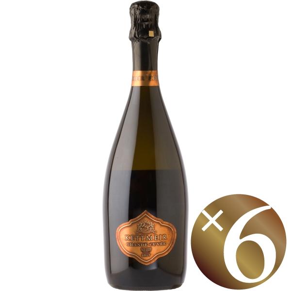 グラン・キュヴェ ブリュット/ケットマイヤー 750ml×6本 (スパークリングワイン)