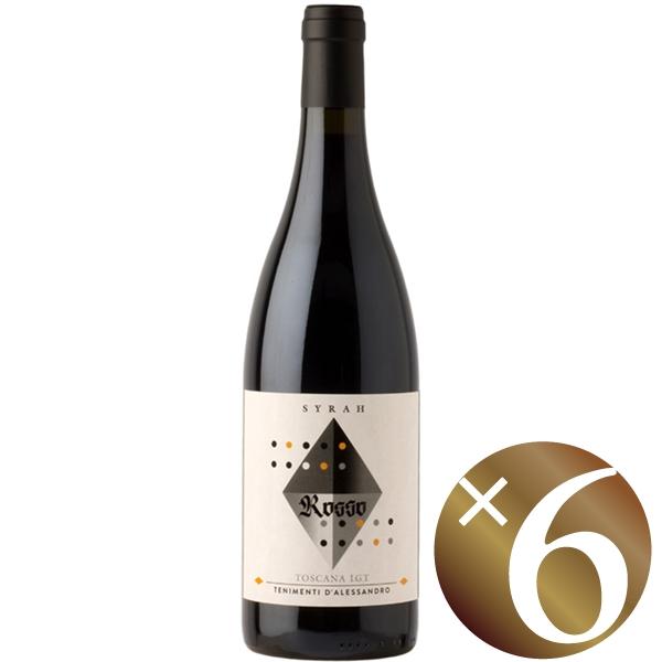 【まとめ買い】ロッソ トスカーナ/ダレッサンドロ (赤ワイン)750ml×6本