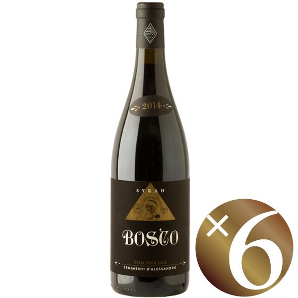 【まとめ買い】ボスコ/ダレッサンドロ (赤ワイン)750ml×6本