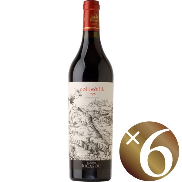 コッレディラ キャンティ・クラッシコ グラン・セレツィオーネ/バローネ・リカーゾリ 750ml×6本 (赤ワイン)
