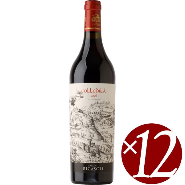 コッレディラ キャンティ・クラッシコ グラン・セレツィオーネ/バローネ・リカーゾリ 750ml×12本 (赤ワイン)