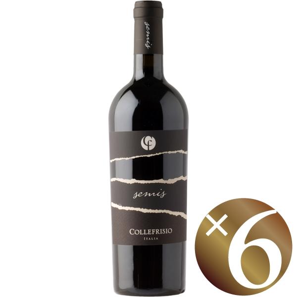 セミス モンテプルチアーノ・ダブルッツォ/コッレフリージオ 750ml×6本 (赤ワイン)
