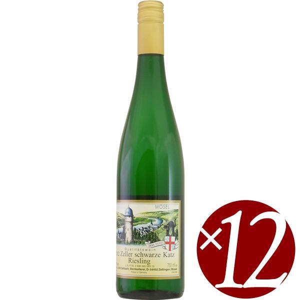 【ポイント2倍(16日2時まで)】J&H ゼルバッハ ツエラー シュヴァルツカッツ Q.b.A./ゼルバッハ オスター 750ml×12本 (白ワイン)