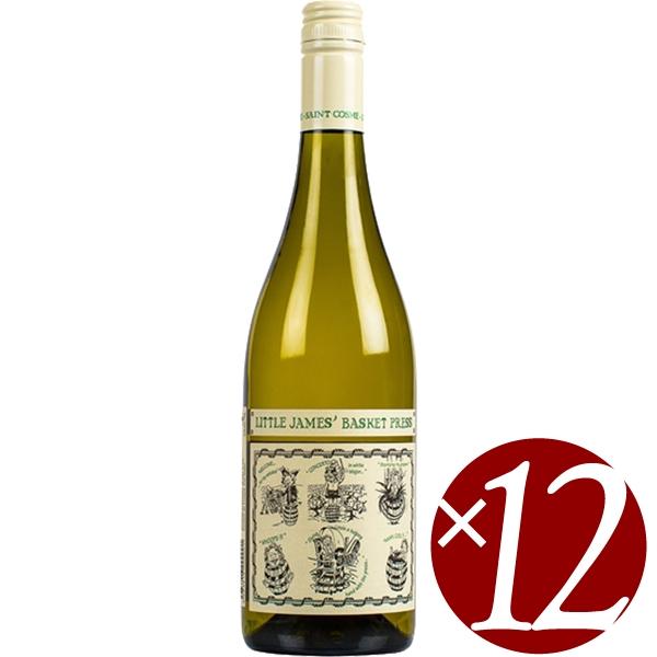 【ポイント2倍(16日2時まで)】サンコム リトル ジェームズ バスケット プレス ホワイト/サン コム 750ml×12本 (白ワイン)