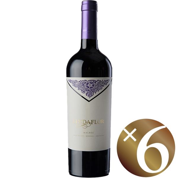リンダフロール レッド/モンテヴィエホ 750ml×6本 (赤ワイン)