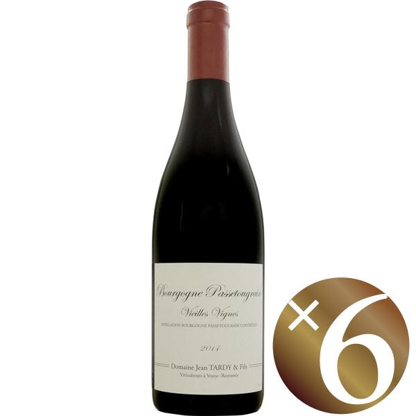 ブルゴーニュ パストゥグラン/ジャン タルディ 750ml×6本 (赤ワイン)