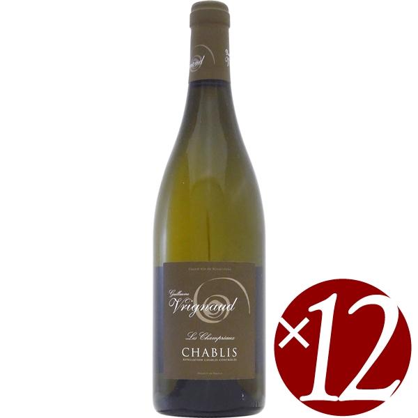 2020モデル ケース買い お得な12本入り シャブリ レ ヴリニョ 激安セール 白ワイン 750ml×12本 シャンプレオー