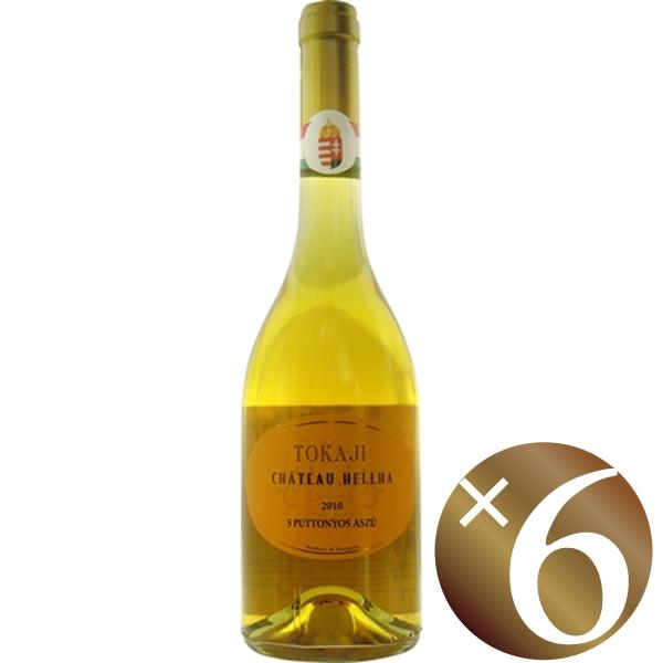【まとめ買い】トカイ アスー 5 プットニョシュ/シャトー エラ (白ワイン)500ml×6本