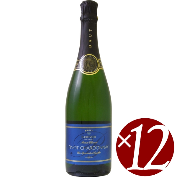 バロヴィエ ピノ シャルドネ ブリュット/カビッキオーリ 750ml×12本 (スパークリングワイン)