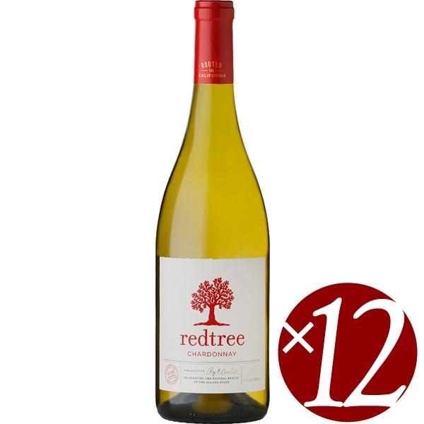 【まとめ買い】レッド ツリー シャルドネ/オニール ヴィントナーズ&ディスティラーズ (白ワイン)750ml×12本