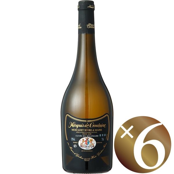【まとめ買い】ミュスカデ・ド・セーヴル・エ・メーヌ シュール・リー/マルキ・ド・グーレーヌ (白ワイン)750ml×6本