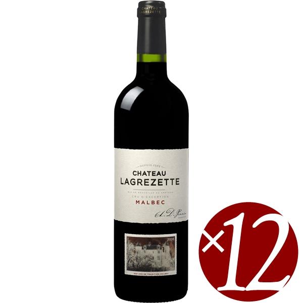 【まとめ買い】シャトー・ラグレゼット(アートラベル)/ドメーヌ・ド・ラグレゼット (赤ワイン)750ml×12本
