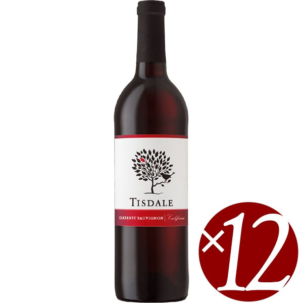【まとめ買い】ディズデイル カベルネ・ソーヴィニヨン/ガロE&J (赤ワイン)750ml×12本
