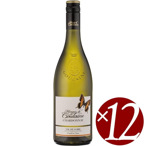 【まとめ買い】シャルドネ/マルキ・ド・グーレーヌ (白ワイン)750ml×12本