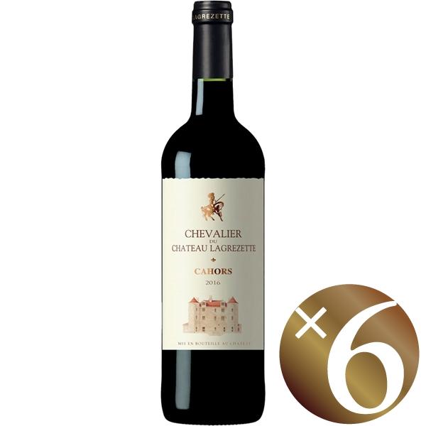 【まとめ買い】シュバリエ・デュ・シャトー・ラグレゼット/ドメーヌ・ド・ラグレゼット (赤ワイン)750ml×6本