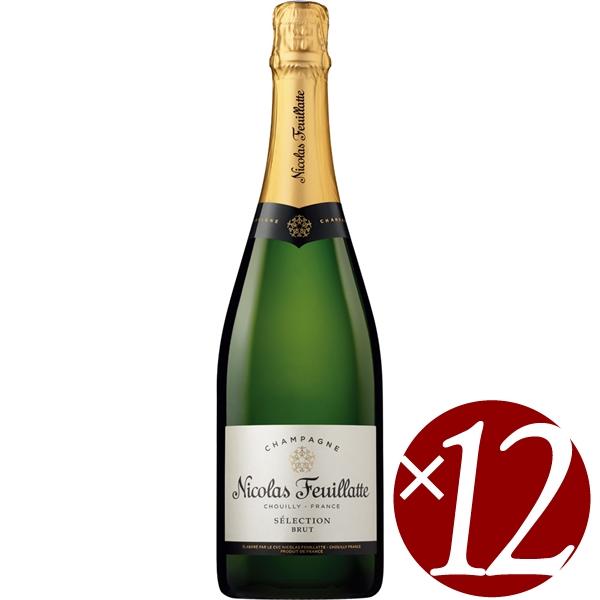 【まとめ買い】セレクション ブリュット/ニコラ・フィアット (スパークリングワイン)750ml×12本
