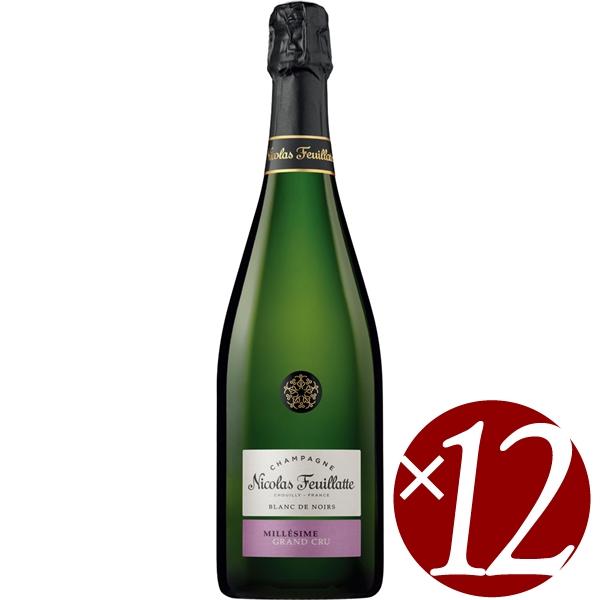 【まとめ買い】グラン・クリュ ブラン・ド・ノワール/ニコラ・フィアット (スパークリングワイン)750ml×12本