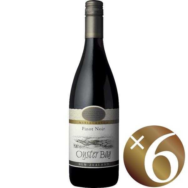 【まとめ買い】オイスターベイ マールボロ ピノ・ノワール/デリゲッツ・ワイン・エステート (赤ワイン)750ml×6本