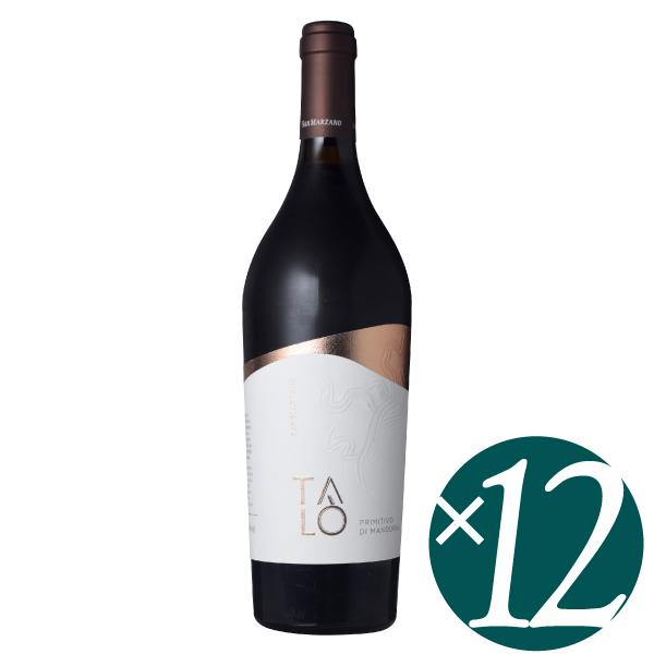 【ポイント2倍(16日2時まで)】タロ プリミティーヴォ・ディ・マンドゥーリア/カンティーネ・サン・マルツァーノ 750ml×12本 (赤ワイン)