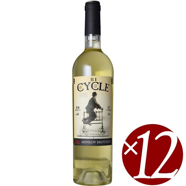 【まとめ買い】サイクル シャルドネ・コロンバール/ミンコフ (白ワイン)750ml×12本