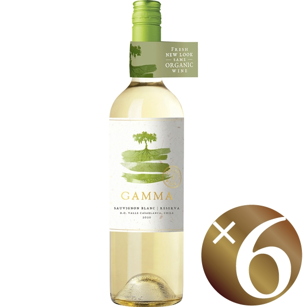 ガンマ オーガニック ソーヴィニヨン・ブラン レセルバ/ベサ 750ml×6本 (白ワイン)