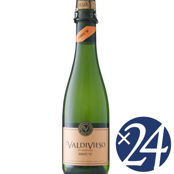 バルディビエソ ブリュット ハーフ/バルディビエソ 375ml×24本 (スパークリングワイン)【スパークリングワイン 泡 発泡酒 炭酸 微発泡 発泡性ワイン ハロウィン クリスマス 誕生日 結婚祝い パーティー】