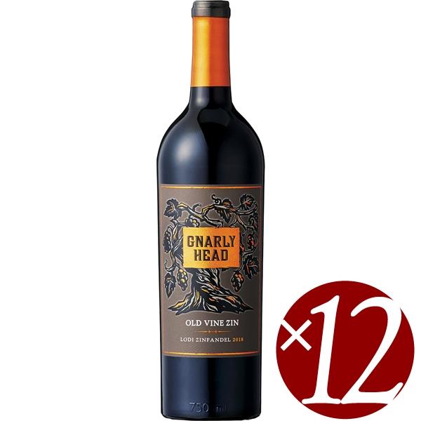 ナーリー・ヘッド オールド・ヴァイン ジンファンデル/デリカート・ファミリー・ヴィンヤーズ 750ml×12本 (赤ワイン)