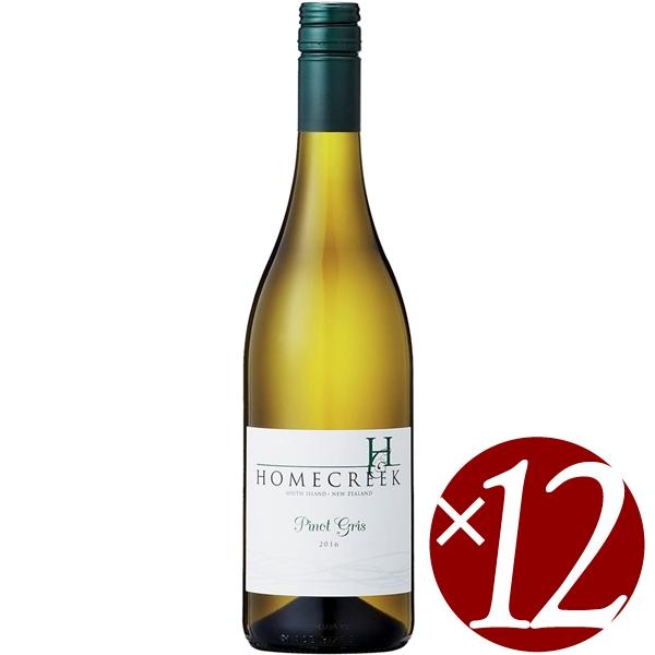 ホーム・クリーク ピノ・グリ/アロハ・ニュージーランド・ワインズ 750ml×12本 (白ワイン)