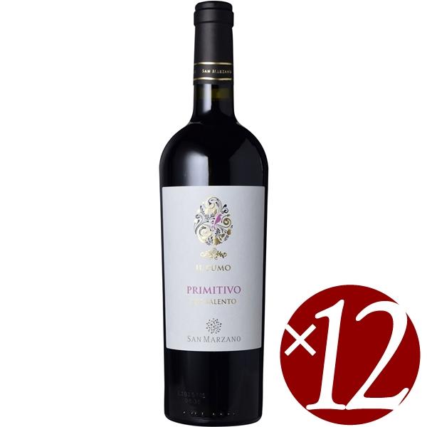 【ポイント2倍(16日2時まで)】イル・プーモ プリミティーヴォ/カンティーネ・サン・マルツァーノ 750ml×12本 (赤ワイン)