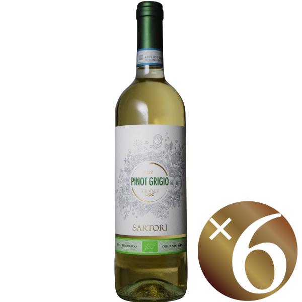ピノグリージョ オーガニック/サルトーリ 750ml×6本(白ワイン)
