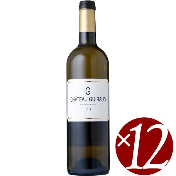 【ポイント2倍(16日2時まで)】ル・ジェ・ド・ シャトー・ギロー/シャトー・ギロー 750ml×12本 (白ワイン)