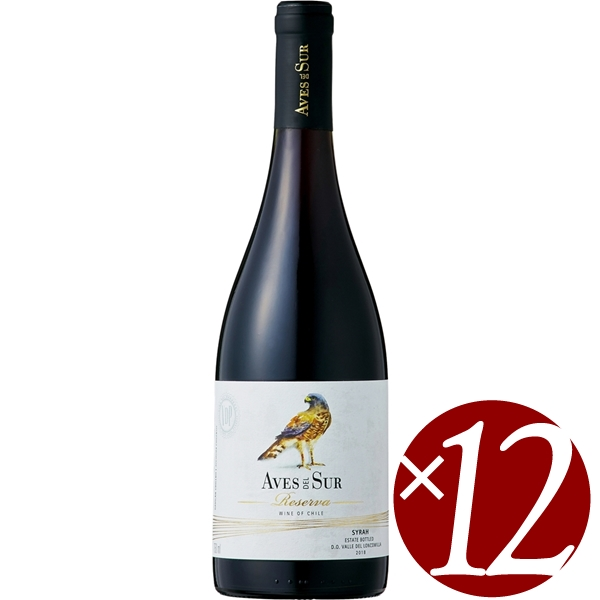 デル・スール シラー レセルバ/ビカール 750ml×12本 (赤ワイン)