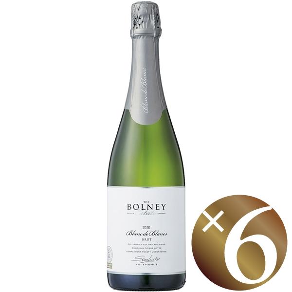 【ポイント2倍(16日2時まで)】ボルニー ブラン・ド・ブラン ブリュット/ボルニー・ワイン・エステイト 750ml×6本 (スパークリングワイン)