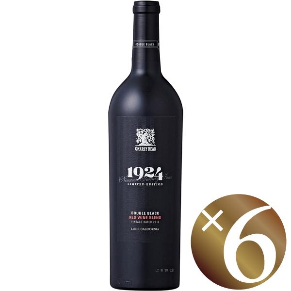 【ポイント2倍(16日2時まで)】【まとめ買い】ナーリー・ヘッド1924ダブル・ブラック/デリカート・ファミリー・ヴィンヤーズ (赤ワイン)750ml×6本