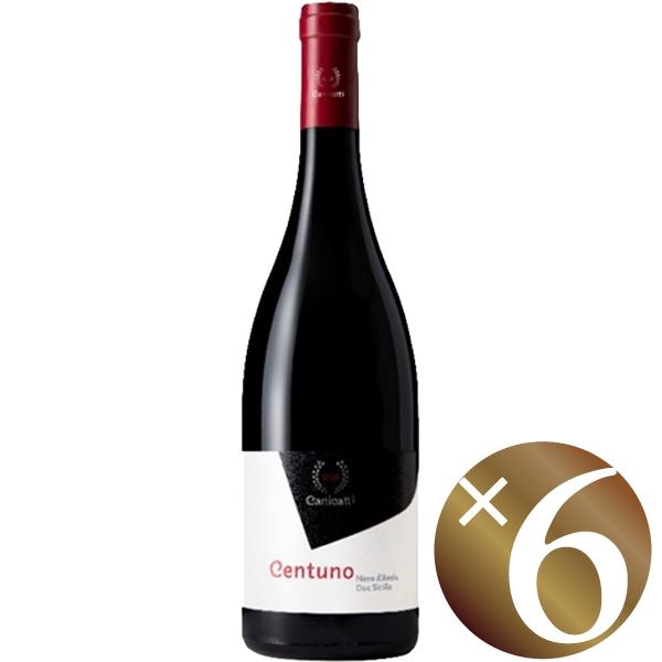 【まとめ買い】チェントゥーノ/カニカッティ (赤ワイン)750ml×6本