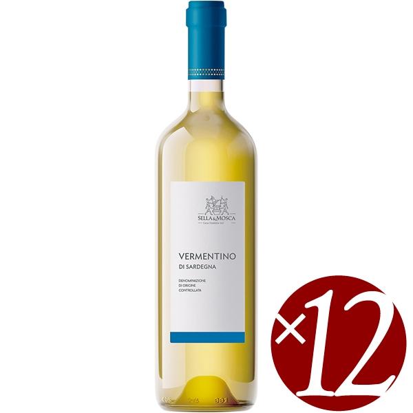 【ポイント2倍(16日2時まで)】ヴェルメンティーノ・ディ・サルデーニャ/セッラ&モスカ 750ml×12本(白ワイン)