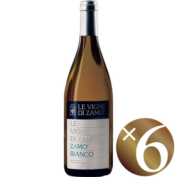 """""""ザモ・ビアンコ"""" ヴェネツィア・ジューリア/レ・ヴィーニェ・ディ・ザモ 750ml×6本 (白ワイン)"""